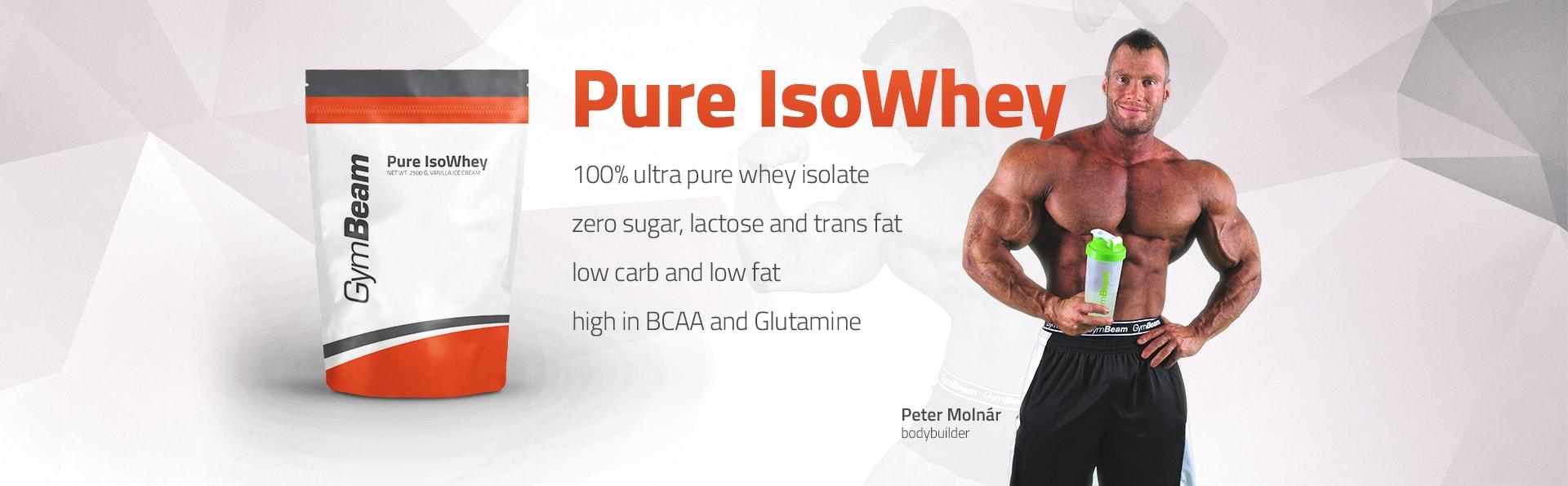 Gymbeam pure isowhey proteinas
