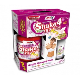 Amix Shake 4 Fit & Slim (1000 g)+CarniLine (480 ml)