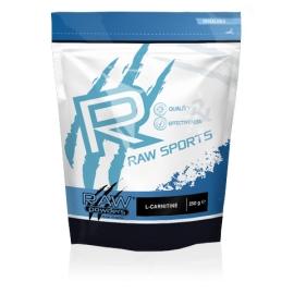 RAW Powders L-carnitine milteliai