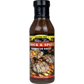 Walden Farms Thick&Spicy Barbecue aštrus padažas