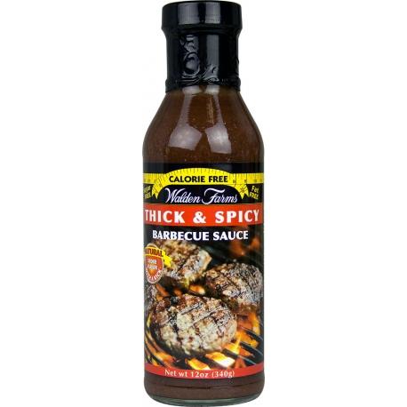 Walden Farms Thick&Spicy Barbecue aštrus padažas