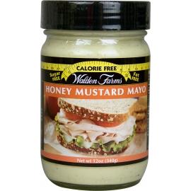 Walden Farms Medaus-garstyčių skonio majonezo padažas