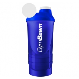 GymBeam plaktuvė 600 ml 3in1