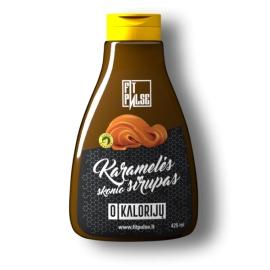 FitPulse Karamelės skonio sirupas