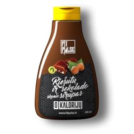 FitPulse Riešutų ir šokolado skonio sirupas