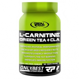 RealPharm L-Carnitine Green Tea + CLA