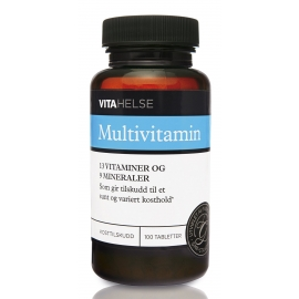 Multivitamin 100 tab