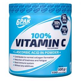 6PAK 100% Vitamin C milteliais