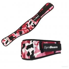GymBeam Neoprene Pink Camo apsauginis diržas