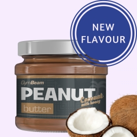 GymBeam peanut with coconut & honey