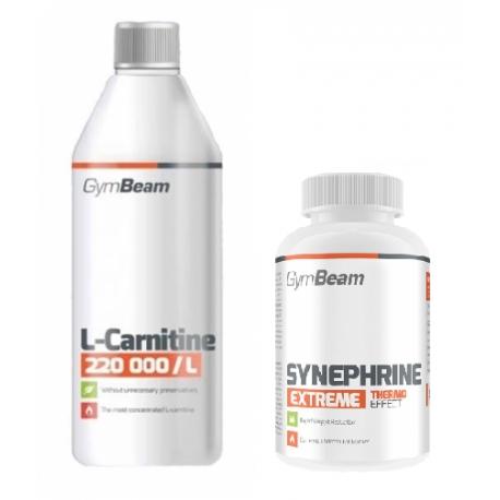 GymBeam L-Carnitine 150 000 (1000ml) + Synephrine (90tab)