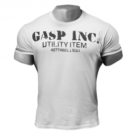Basic Utility Tee Marškinėliai Balti