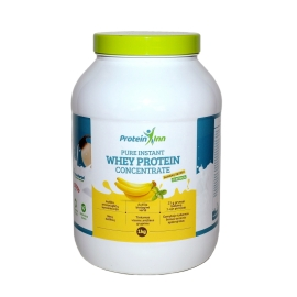 Protein Inn 100% išrūgų baltymai su skoniu (WPC)