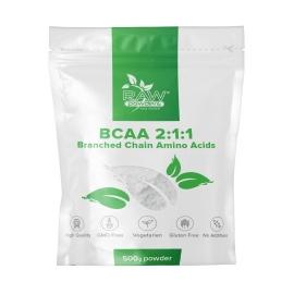 RAW Powders Micronized BCAA 2:1:1 milteliai