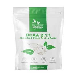 RAW Powders BCAA 2:1:1 tabs