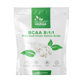 RAW Powders BCAA 8:1:1 tabs