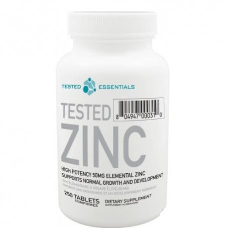 TESTED Zinc (250 tab)