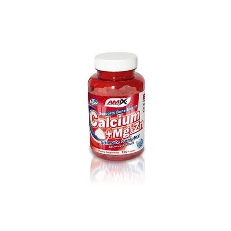 AMIX Calcium + Mg & Zn (100 tab)
