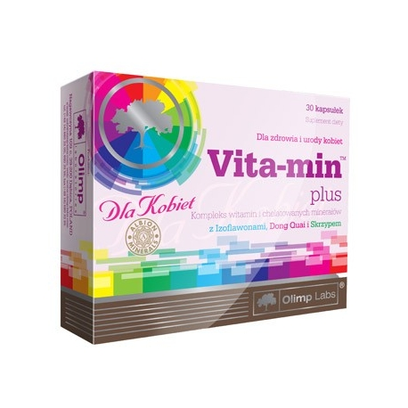 OLIMP Labs Vita-min Plus moterims (30 kaps)