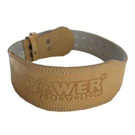 Power System Weighlifting Belt Power Natural