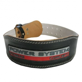Power System Weighlifting Belt Power Black